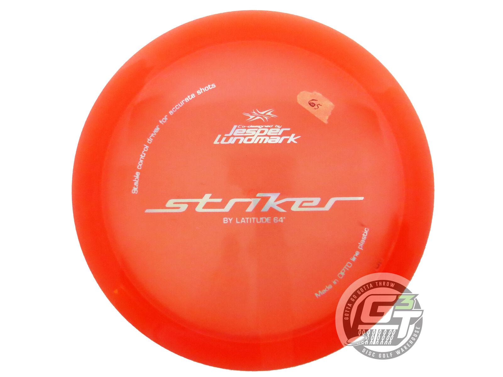 nuovo Latitude 64 Opto Striker 174g arancia 1st correre Driver FELDBERG COLLECTION