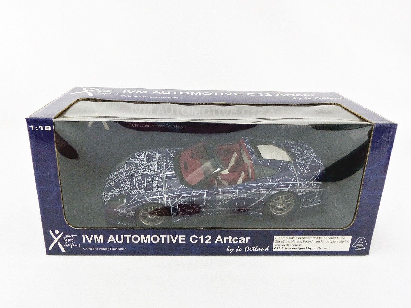 Autoart 1 18 - chevrolet corvette c12 muko calaway - 71074