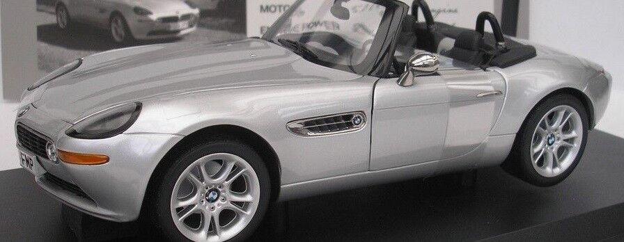Original BMW Z 8 E 52 argent miniature 1999 1 18 Heritage Collection Nouveau neuf dans sa boîte