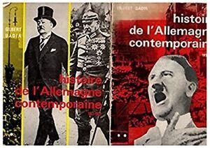 Histoire-de-l-039-Allemagne-contemporaine-en-2-tomes-Tome-1-1917-1933-Tome-2