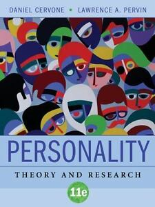 Personality theory and research (hardcover, 11th revised edition.