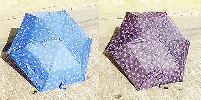 Drizzles Supermini Umbrella 2 Patterns Owl /& Flamingo Great Price! UU168