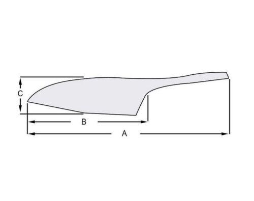 GERMANY lebensmittelecht M.i Gewürzschaufel Abwiegeschaufel 110mm Alu 5 St