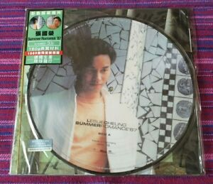 Leslie Cheung( 張國榮) ~ Summer Romance ( Picture Disc ) ( Made In Germany ) Lp