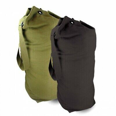 Black Highlander 30cm Diameter Army Kit Bag// Duffle