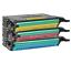 3PK CLP-660 C M Y Color Toner Set For Samsung CLP-610ND CLP-660ND CLX6240FX