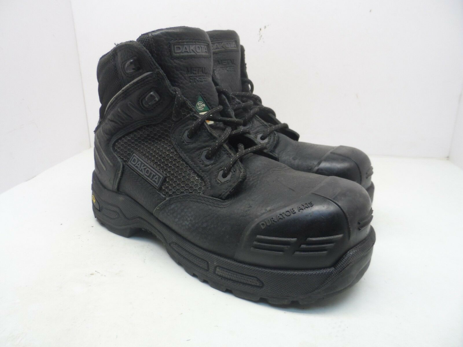 DAKOTA Men's 6 6410 Composite Toe Composite Plate Injected Work Boot Black 9.5M