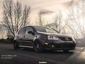 Fender-Bengalas-Para-Volkswagen-Golf-Mk5-Ancho-Kit-De-Carroceria-arco-rueda-JDM-VW-50mm-4-un