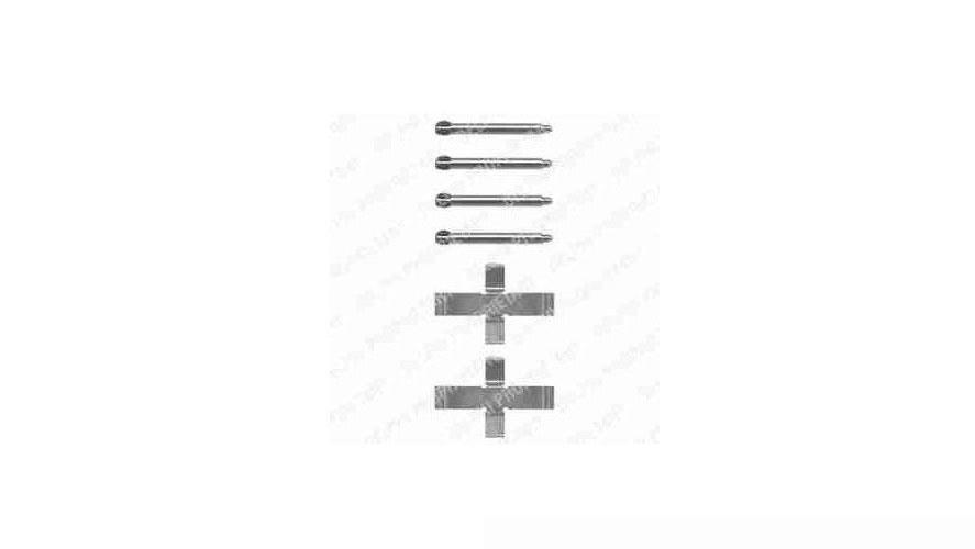 Zubehörsatz für Scheibenbremsbelag TRW PFK159