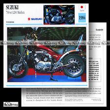 #046.08 SUZUKI 700 & 1200 MADURA 1984 Fiche Moto Motorcycle Card