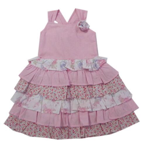 happy girls Kleider Kleid ärmellos festlich Sommerkleid Trägerkleid Gr.98,104