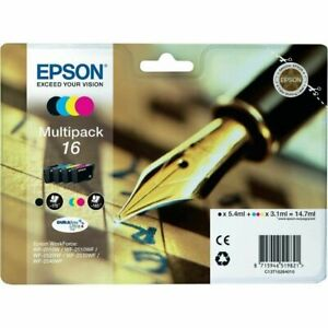 Epson-16-Series-C13T16264012-Black-Tri-Color-Ink-Catridges-Multi-Pack