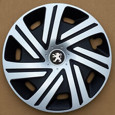 """Set of  4x15"""" wheel trims to fit Peugeot 207"""