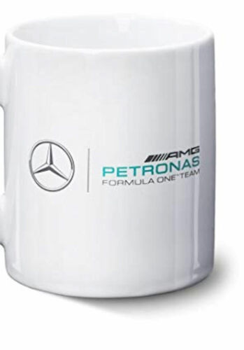 Mercedes Benz AMG Car Petronas F1 Team White Mug 11Oz