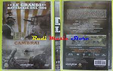 DVD film CAMBRAI Carri armati Le grandi battaglie del 900 SIGILLATO no vhs(D2)