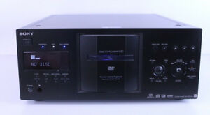 Bad-Laser-Sony-DVP-CX777ES-400-Disc-DVD-CD-Player-Jukebox-Black