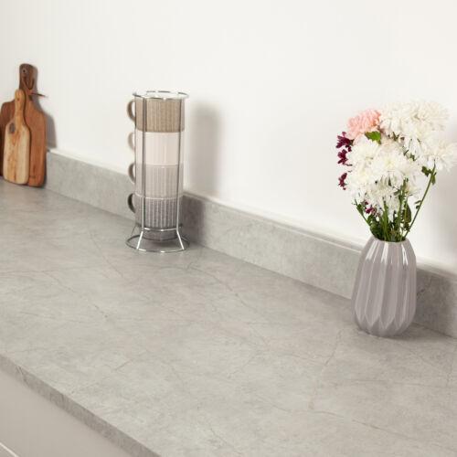 Minos Stone Effect Thin 22mm Square Edge Matt Laminate Kitchen Worktops