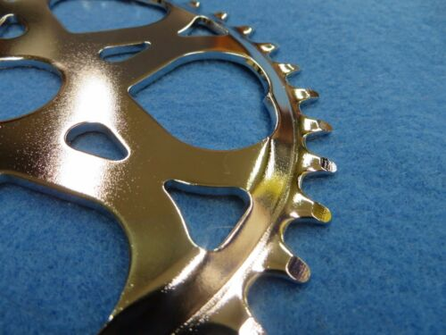 New Vintage Lowrider Sweet Heart Sprocket 36t For Single Speed in Chrome