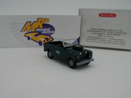 "Wiking 0100 04 Land Rover Cabrio Baujahr 1958 /"" Royal Air Force /"" 1:87 NEUHEIT"