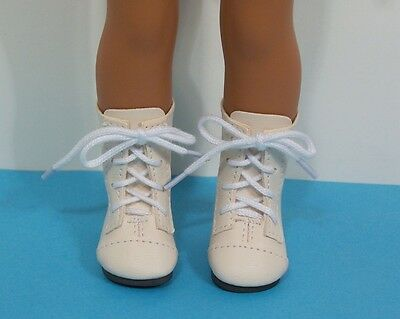 Handmade Fashion Shoes Brown Boots for 14/'/' AG American Doll Wellie Wishers