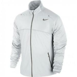 Details zu Nike Rafael Nadal Premier Gewebt Tennis Jacke WeißGrau 523301 100 Sz S M L XL