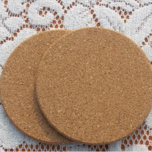 1 Pcs Hot Plain Cork Coasters Drink Wine Mats Cork Kitchen Dining Mats Pip Rh