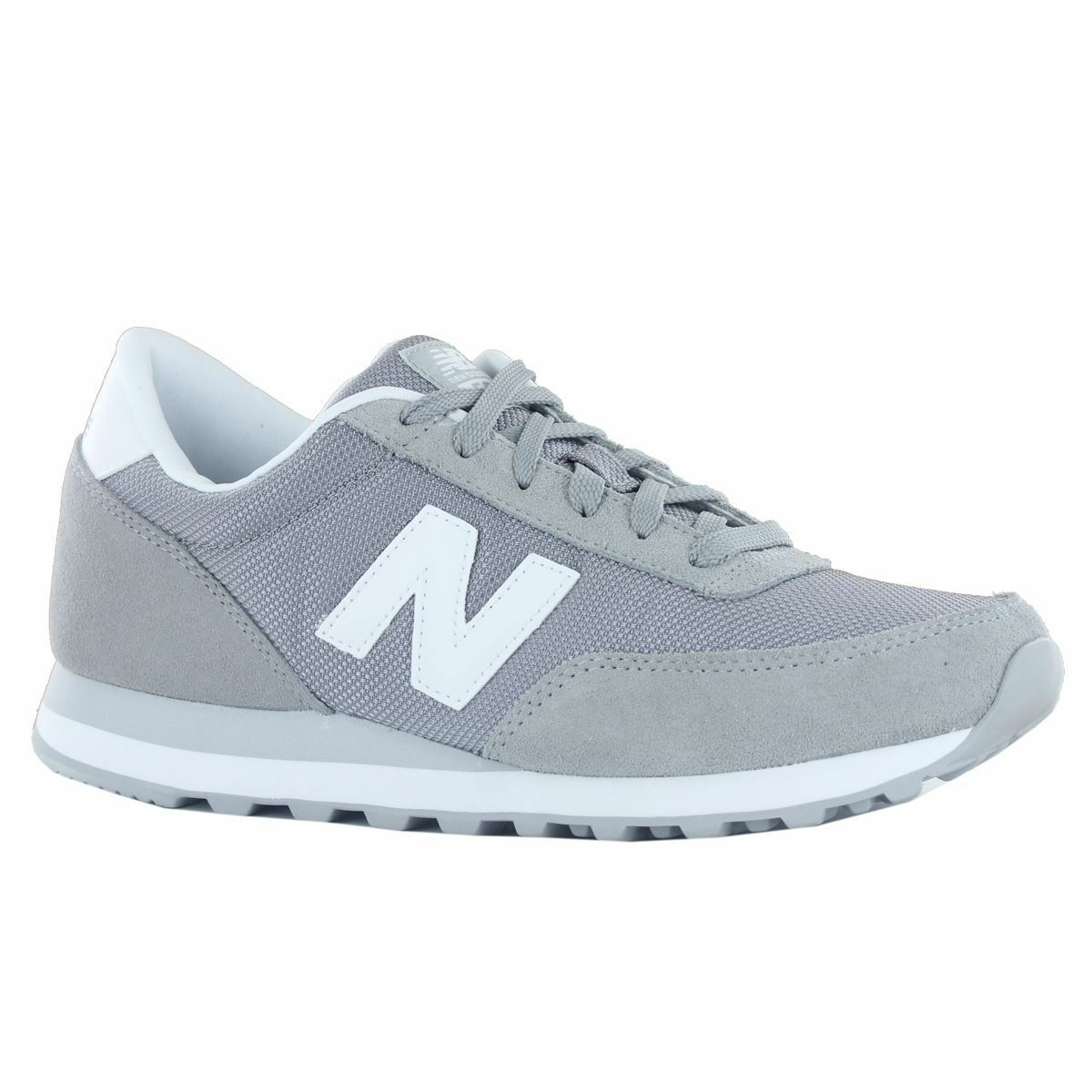 New Balance Mens Classics Traditionnels Grey White Mens Balance Trainers 7eef4a