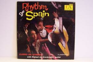 Curro de Utrera - Rhythm Of Spain Vinyl LP Record Album
