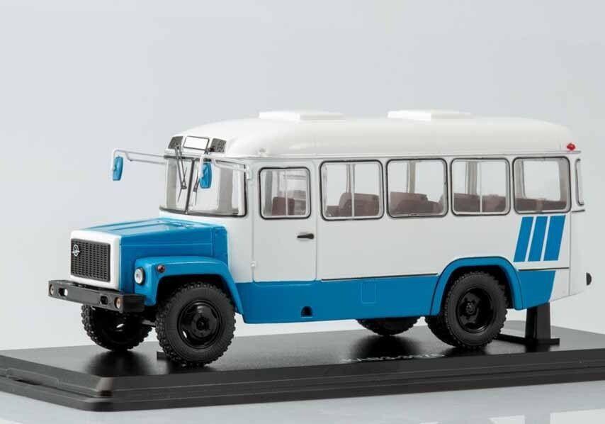 Kvz 3976 weiß - blau - bus ssm 4017 1 43