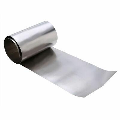 Titanium Ti Thin Plate Sheet Foil Gr2 0.1 x 100 x 500mm Metalworking Supplies