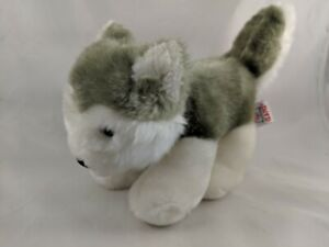 Ganz-Webkinz-Hudson-Husky-Plush-8-034-H3628-Stuffed-Animal