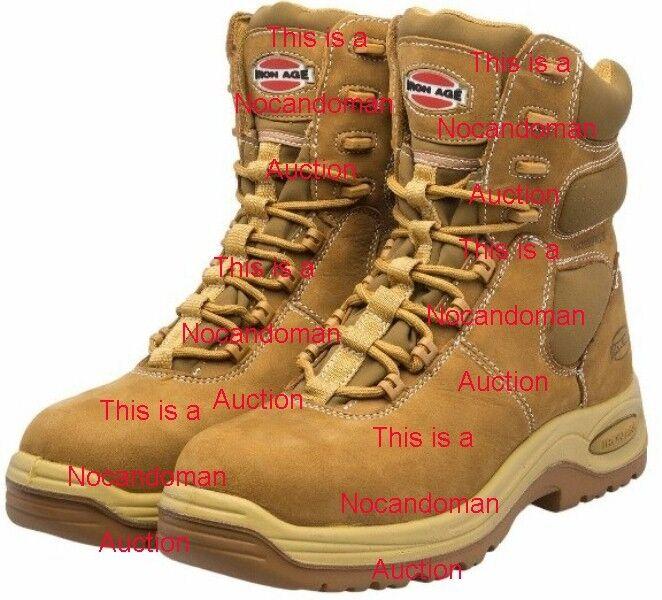 NW para hombres Edad de Hierro 8.5 IA6900 botas De Trabajo Impermeable Aislado Composite Toe Zapatos