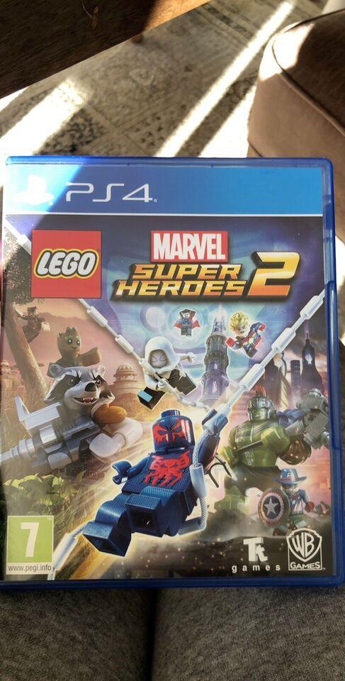 Marvel Super Hero 2, PS4, adventure