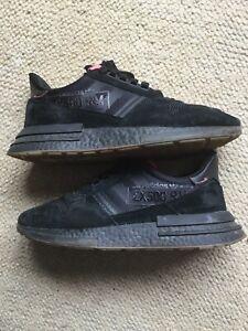 separation shoes 8cdf8 e4b0d Details about Adidas zx 500 rm Black Trainers. Pink. Size 9 Uk. Excellent  Condition.