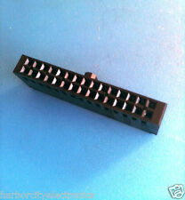 102387-7 TYCO CONNECTOR HOUSING 30 POSITION .100 POL DUAL