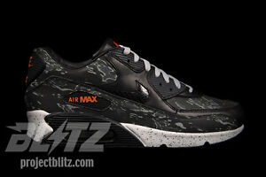 new style 2f54b ac2f7 Image is loading NIKE-AIR-MAX-90-PREMIUM-ATMOS-BLACK-TIGER-