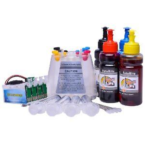 Non OEM Dye + Pigment ink ciss continuous ink system fits Epson XP-245 XP-247