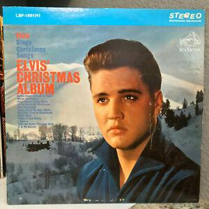 "ELVIS PRESLEY - Christmas Album (LSP 1951(e)) - 12"" Vinyl Record LP - VG"