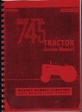 "Massey-Harris ""745"" Tractor Service Manual"