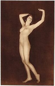 1920s-Vintage-German-Female-Nude-Model-Art-Deco-Fiedler-Photo-Gravure-Print