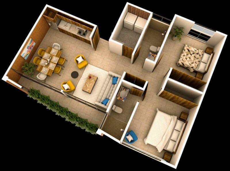 Departamentos de 1, 2 Y 3 Recámaras, ubicación ideal, diseño innovador Alamitos
