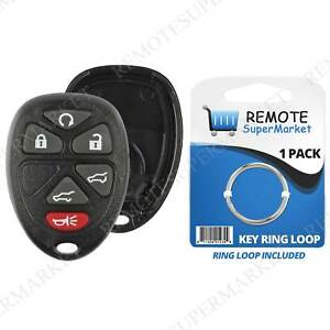 Details About Replacement For 07 14 Chevy Tahoe Traverse Gmc Yukon Remote Key Fob Shell Case