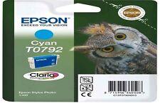 Genuine EPSON T0792 Para Epson Impresora Cartucho De Tinta Original