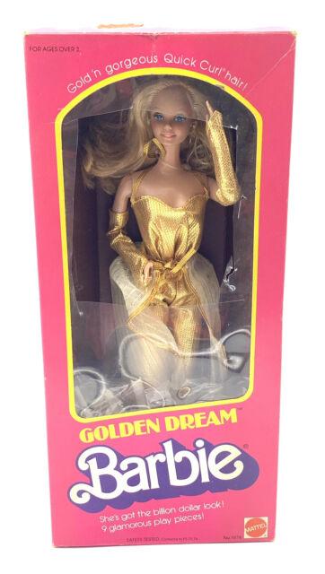 Vintage 1980 GOLDEN DREAM BARBIE #1874 *DEPT STORE SPECIAL* Superstar Era