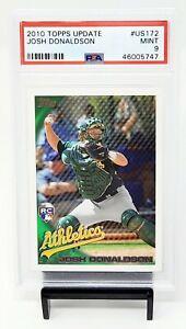 2010-Topps-Update-RC-Twins-Star-JOSH-DONALDSON-Rookie-Baseball-Card-PSA-9-MINT
