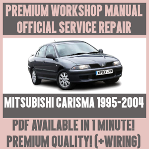 workshop manual service repair guide for mitsubishi carisma 1995 rh ebay co uk Nissan Serena Nissan Serena