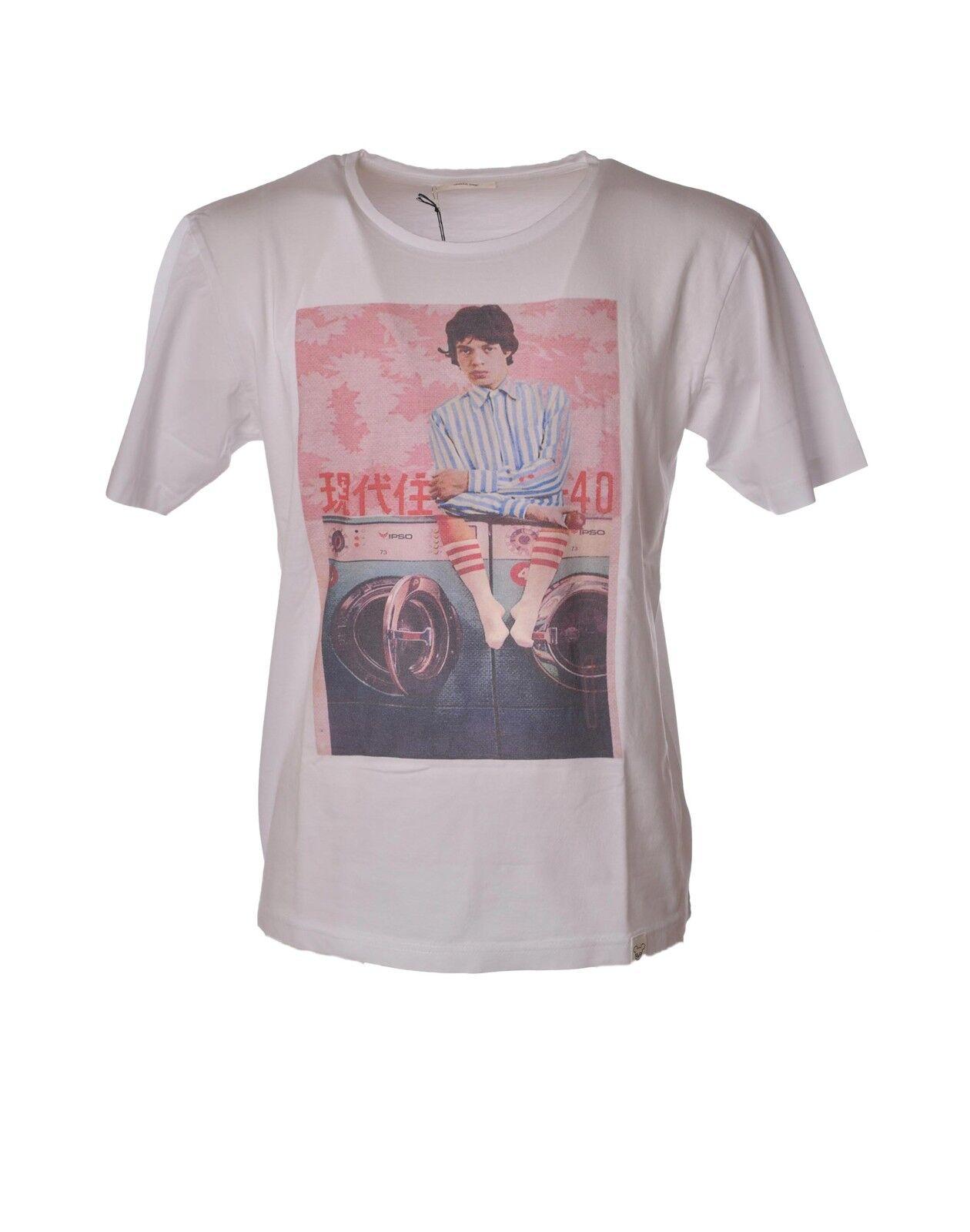 Obvious Basic - Topwear-T-shirts - Mann - white - 3815915G181557