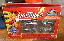 JOHNNY LIGHTNING Commemorative Set B - CHROME PLATING / ZAMAC ? High Quality