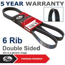 Gates Alternator Fan Drive V Belt For Audi Ford Seat Skoda VW Ribbed 6DPK1195
