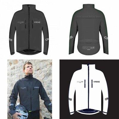 M L /& XL ProViz Reflect360 CRS 100/% Reflective Cycling//Running Jacket in Black